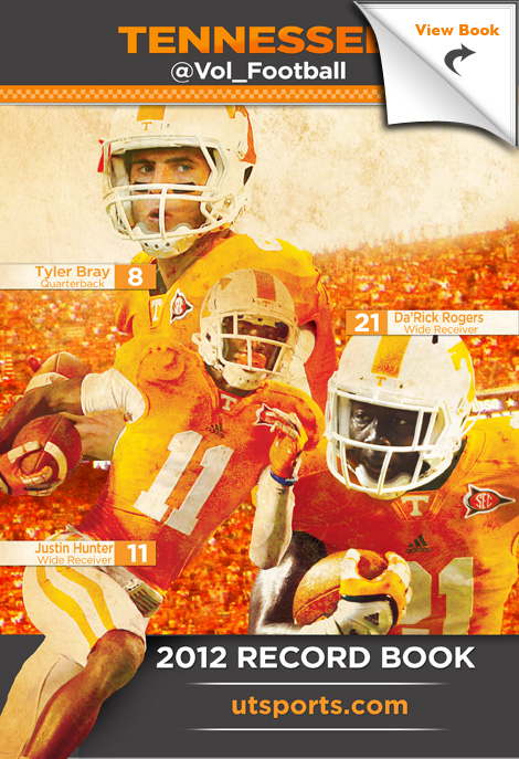 Record Holders 2012: University of Tennessee Football