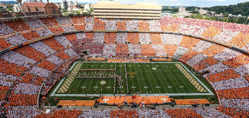 2020 University Of Tennessee Football Schedule Future Non Conference Football Schedules (2018 27)   University of
