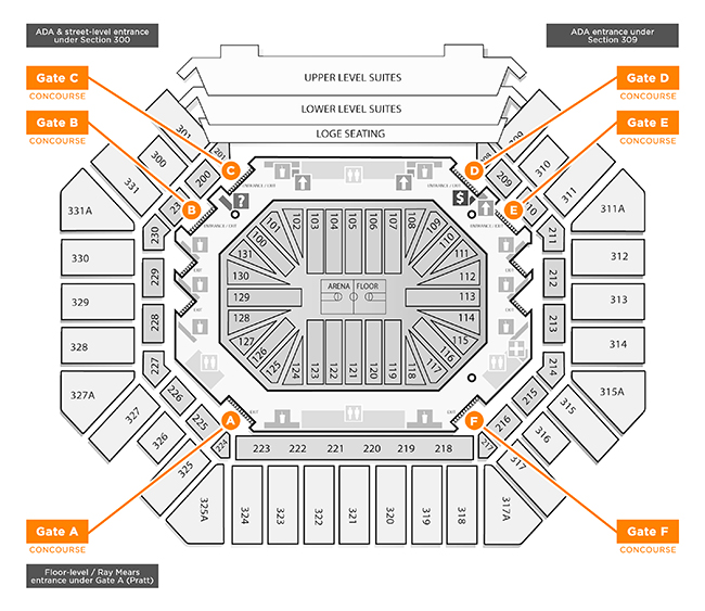 Thompson-Boling Arena - Facilities - University of Tennessee ... on sanford stadium seating map, carrier dome seat location, u.s. cellular field seating map, chene park seating map, hilton coliseum seating map, xfinity center seating map, mackay stadium seating map, carrier dome tailgating, carrier dome events, carrier dome staff, gampel pavilion seating map, fedex forum seating map, joyce center seating map, us bank arena seating map, cameron indoor seating map, alumni hall seating map, hinkle fieldhouse seating map, valley view casino center seating map, carrier dome information, ryan field seating map,