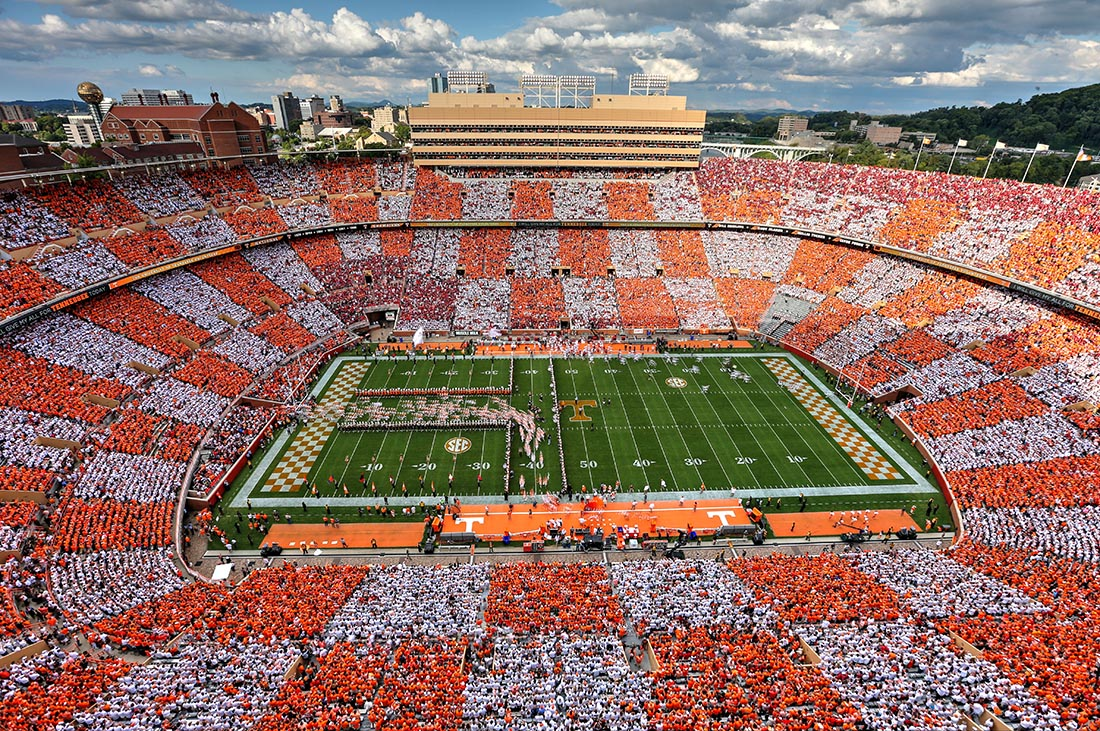 Orange And White Have Been Tennessee S Official Colors Since 1891