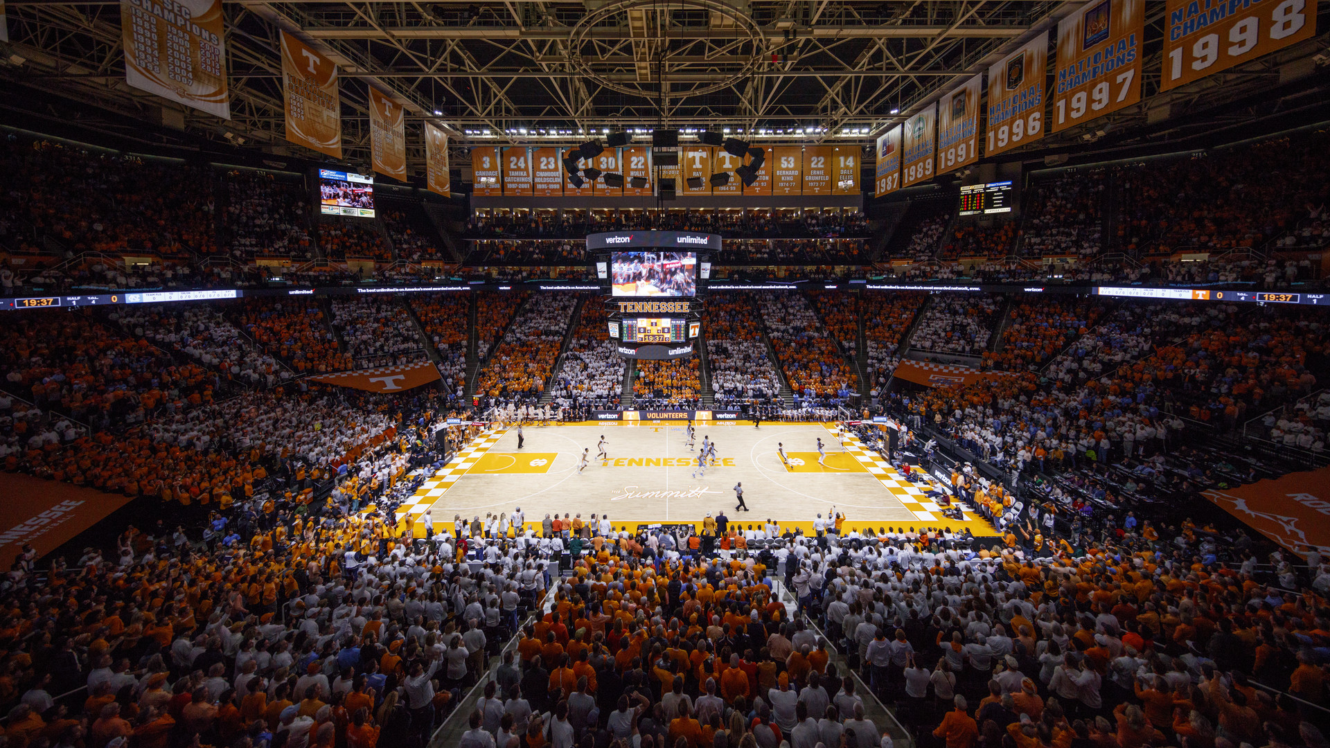 Thompson Boling Arena Facilities University Of Tennessee