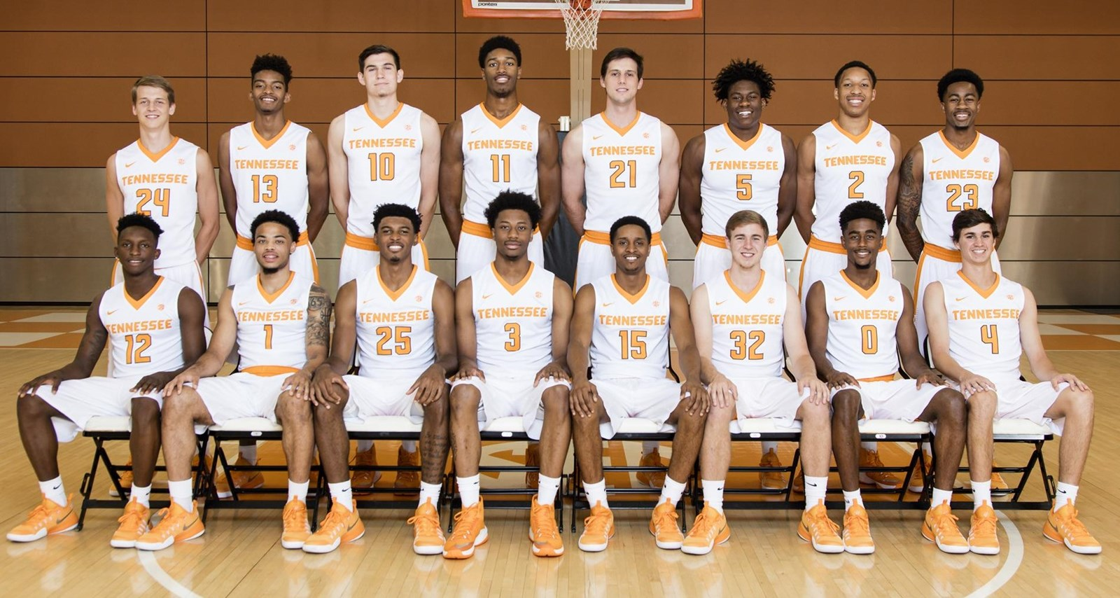 2016 17 Mens Basketball Roster University Of Tennessee Athletics