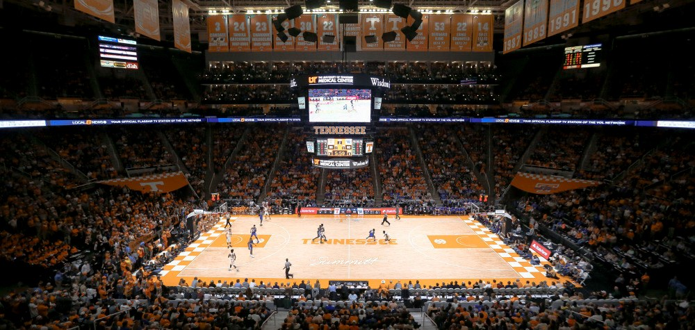 Thompson Boling Arena Facilities University Of Tennessee Athletics