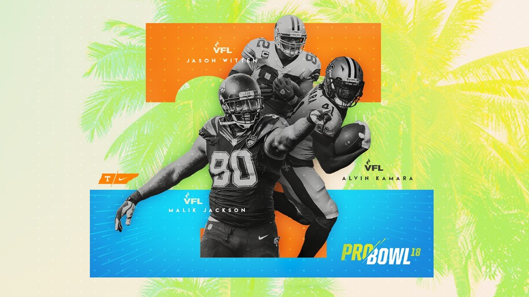 the latest 6ce92 f90df VFL TRIO READY FOR PRO BOWL - University of Tennessee Athletics