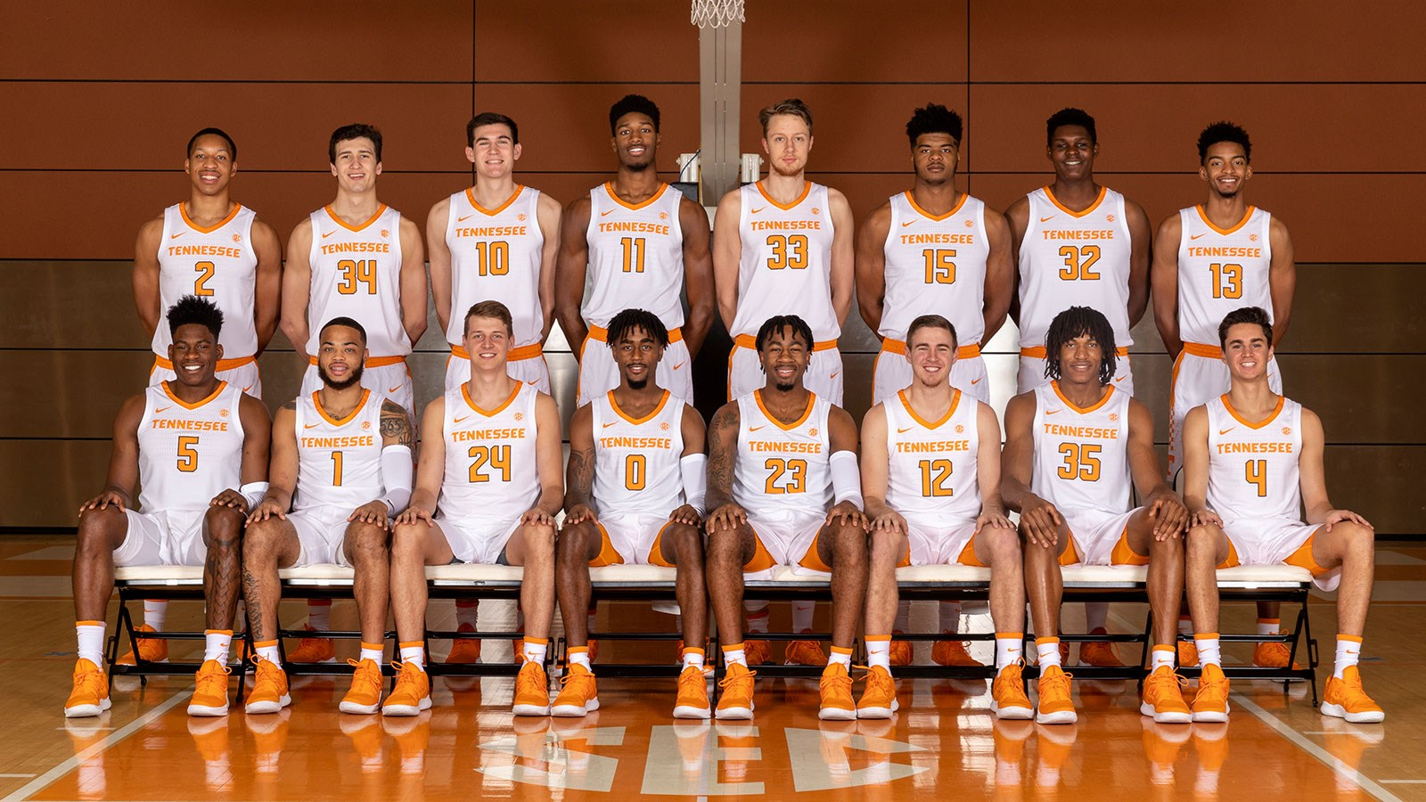 2018 19 men s basketball roster university of tennessee athletics
