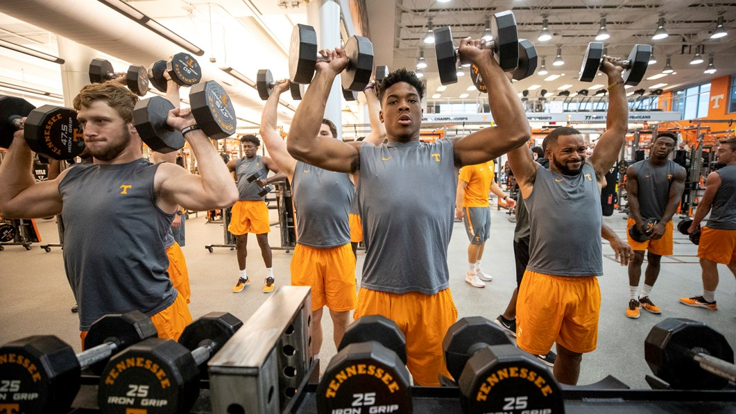 Vols Making Huge Gains with Help of Strength & Conditioning Staff