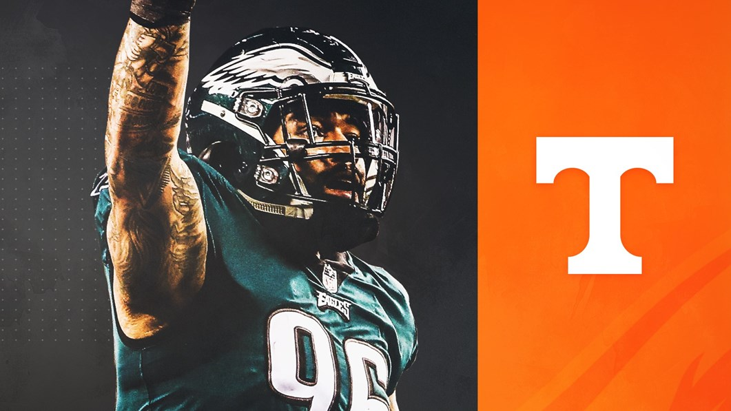 buy popular dec5c edd7f Derek Barnett Set to Become Latest Vol in Super Bowl ...