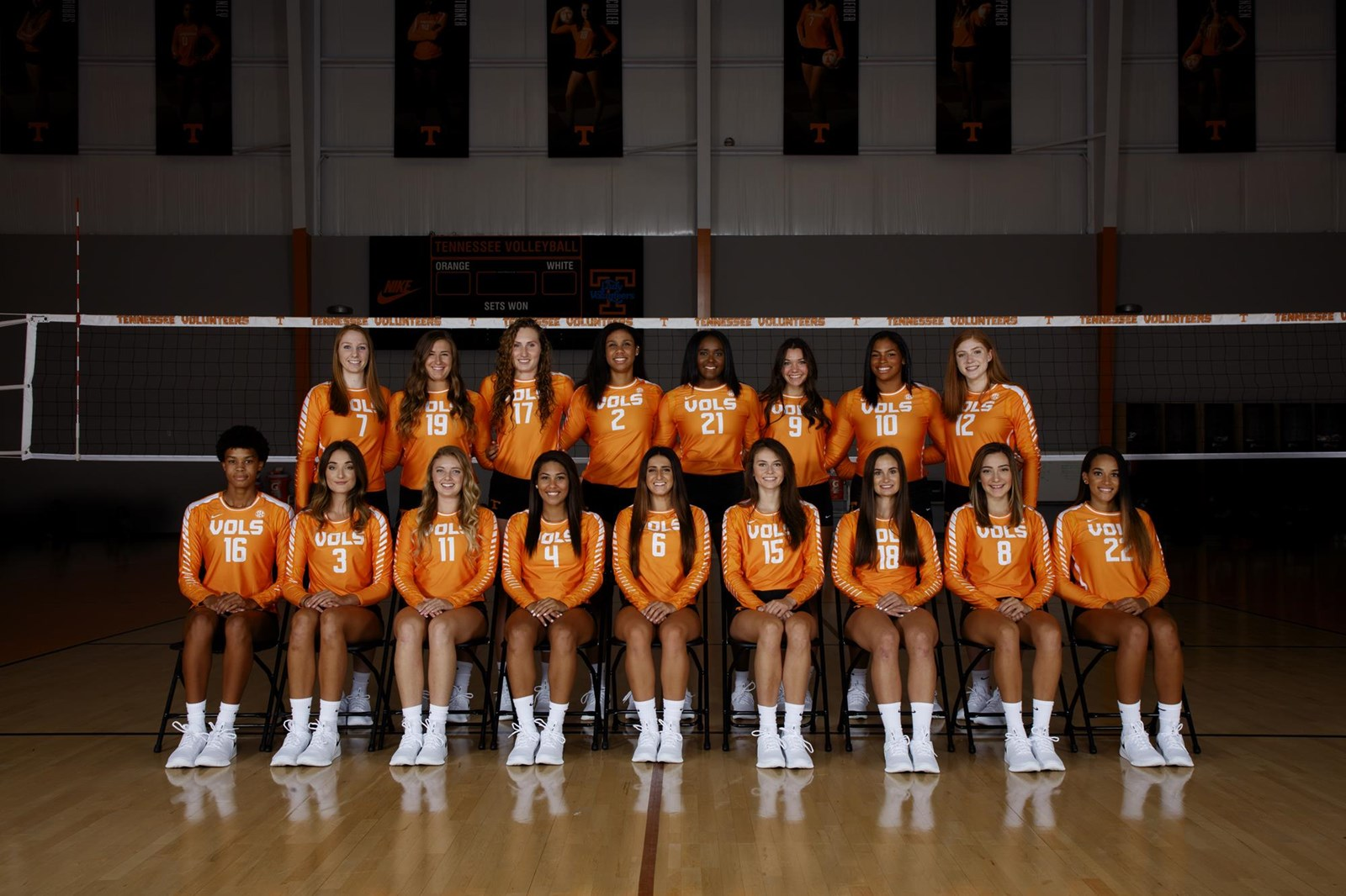 2018 Volleyball Roster University Of Tennessee Athletics