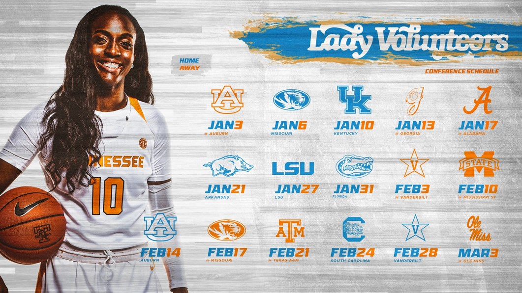 Biminis Greenville Sc February Calendar 2019 Lady Vols' 2019 SEC Slate Announced   University of Tennessee