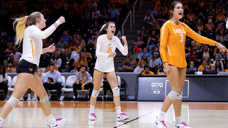 Volleyball Central Vs Mississippi State University Of Tennessee Athletics