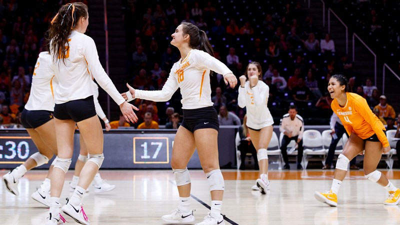 Volleyball Central Vs Alabama University Of Tennessee Athletics