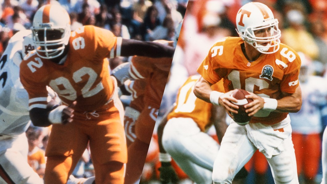 Espn Names Vfls White And Manning All Time All Americans University Of Tennessee Athletics