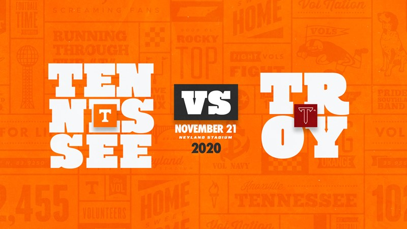 Tennessee Football Will Host Troy In 2020 University Of Tennessee Athletics