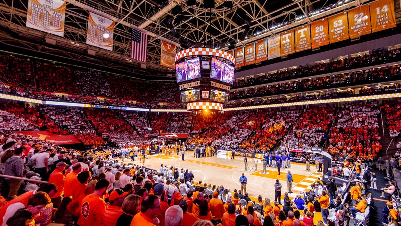 Vols Fans Fed The Floor At An Elite Rate At Thompson