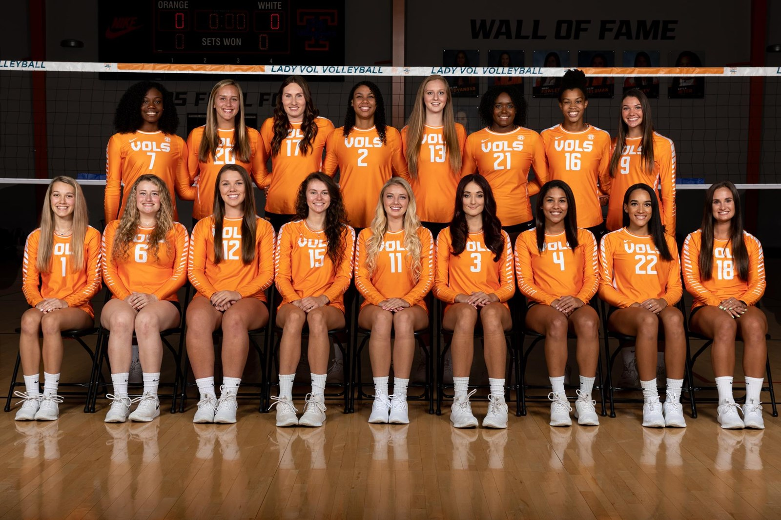 2019 Volleyball Roster University Of Tennessee Athletics