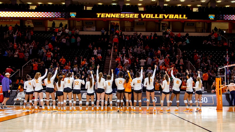 Volleyball Season Tickets Now On Sale University Of Tennessee Athletics