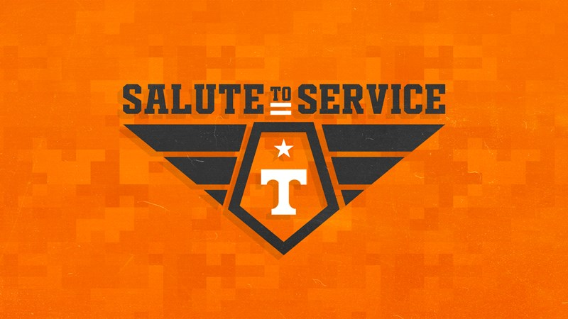 Tennessee Athletics Announces Salute to Service Week
