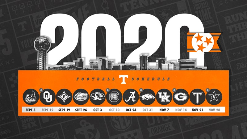 Big Ten Bowl Games 2020 21.Tennessee Football Announces 2020 Schedule University Of