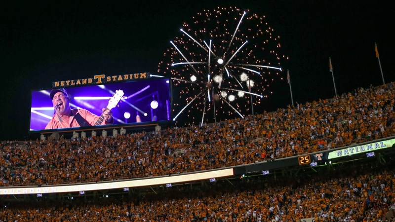 Tickets for Garth Brooks at Neyland Stadium On Sale Today